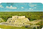 Temple of the Warriors and Thousand Columns Yucatan Mexico p24954