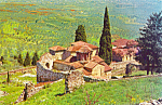 Click here to enlarge image and see more about item p24969: Mystras Byzantine Architecture and art