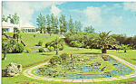 Click here to enlarge image and see more about item p24971: Bermuda Map Garden,South Shore Road,Devonshire
