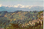 Click here to enlarge image and see more about item p24972: Landscape, Darjeeling, India