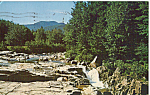Click here to enlarge image and see more about item p24994: Rocky Gorge Swift River,White Mountain National Forest