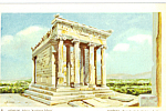 Temple of  Nike Apteros, Athens, Greece