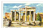 The Propylaea of the Acropolis, Athens, Greece