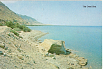 Click here to enlarge image and see more about item p25027: The Dead Sea, Israel