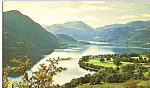 Ullswater Old Lakeland Dialect Souvenir Postcard