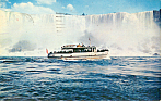 Click here to enlarge image and see more about item p25072: Maid of the Mist, Niagara Falls
