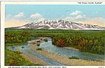Click here to enlarge image and see more about item p25083: Elk Mountain and Medicine Bow River
