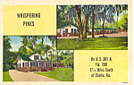 Whispering Pines,Cottages, Starke Florida