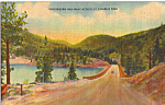 St Charles Dam Lake Isabel Colorado Postcard p25126