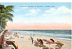 Click here to enlarge image and see more about item p25135: Delightful Bathing in Beautiful Florida