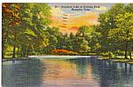 Rainbow Lake,Overton Park, Memphis, Tennessee