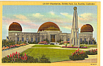 Click here to enlarge image and see more about item p25179: Planetarium Griffith Park Los Angeles CA p25179