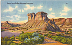 Click here to enlarge image and see more about item p25194: Castle Butte, Badlands, Montana