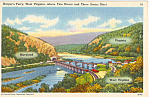 Click here to enlarge image and see more about item p25203: Harper's Ferry Where Three States Meet