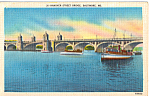 Hanover Street Bridge, Baltimore, Maryland