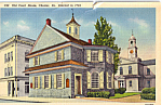 Click here to enlarge image and see more about item p25249: Old Court House, Chester, Pennsylvania