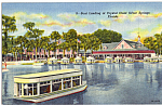Click here to enlarge image and see more about item p25250: Boat Landing Silver Springs Florida p25250