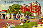 Click here to enlarge image and see more about item p25264: Open Air US Post Office St Petersburg Florida p25264