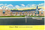 Brown's Motel, Aberdeen, Ohio Postcard p25271