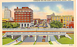 Click here to enlarge image and see more about item p25283: Underpass and Pine Street,Abilene, Texas