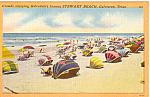 Click here to enlarge image and see more about item p25284: Stewart Beach, Galveston, Texas
