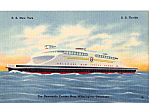 Newcastle Ferries SS New York SS Florida p25299