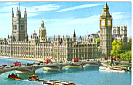 Click here to enlarge image and see more about item p25312: Houses Of Paliament, London