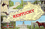 Click here to enlarge image and see more about item p25387: State Maps and Views of Kentucky  p25387