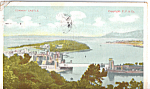 Click here to enlarge image and see more about item p25464: Conway Castle Wales Postcard p25464