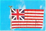 Click here to enlarge image and see more about item p2548: British Colony Flag Postcard p2548