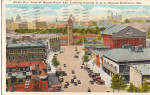 Click here to enlarge image and see more about item p25620: Looking Toward B & O Railroad Station, Baltimore