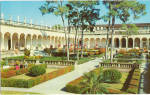 Click here to enlarge image and see more about item p25708: Italian Garden Court Ringling Museum of Art