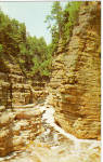 Click here to enlarge image and see more about item p25746: Jacob's Ladder, Ausable Chasm, New York