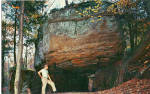 Click here to enlarge image and see more about item p25811: Cave at Ludlow Pennsylvania Postcard p25811