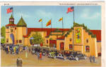 Click here to enlarge image and see more about item p25933: Old Heidelberg Chicago World s Fair Postcard p25933