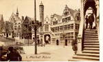Click here to enlarge image and see more about item p25952: Market Place, Picturesque Belgium