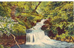 Click here to enlarge image and see more about item p26030: A Pennsylvania Waterfall