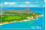 Click here to enlarge image and see more about item p26051: Diamond Head  Hawaii p26051