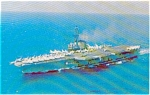 USS Coral Sea CVA 43 Carrier Postcard p2605