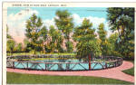Click here to enlarge image and see more about item p26079: The Blue Hole Castalia Ohio p26079