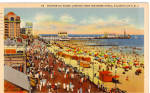 Click here to enlarge image and see more about item p26115: Boardwalk Scene, Atlantic City, New Jersey