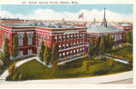 Click here to enlarge image and see more about item p26216: Boston Normal School, Boston,Massachusetts