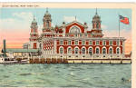 Ellis Island New York Harbor p26255
