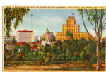 Click here to enlarge image and see more about item p26298: Skyline Showing El Cortez Hotel and Speckels Building