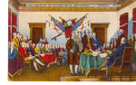 Signing of the Declaration of Independence J Trumbull Philadelphia PA  p26369