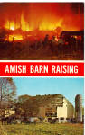 Amish Barn Raising Pennsylvania Dutch Country