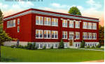 Click here to enlarge image and see more about item p26510: Hillsboro High School, Hillsboro New Hampshire