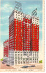 Click here to enlarge image and see more about item p26546: Hotel Fort Shelby Detroit Michigan Postcard p26546
