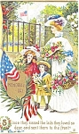 Click here to enlarge image and see more about item p2657: Memorial Day Postcard