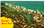 Airview of Miami Beach Florida p26625